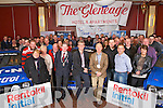 Killarney Town Mayor Paddy Courtney and President of Killarney Chamber of Tourism & Commerce Johnny Mc Guire with organisers, sponsors and friends at the Launch of the Killarney Historic Stages Rally (Saturday Dec 7th) in The Gleneagle Hotel last Sunday.