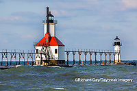 64795-02801 St. Joseph North Pier Lighthouses St. Joseph, MI