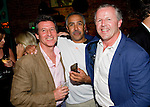 LAUREUS WORLD SPORTS AWARDS 2013, RIO DE JANEIRO, BRAZIL..WELCOME PARTY AT RIO SCENARIUM, A SALSA CLUB IN LAPA, AN OLD AREA OF RIO..SEB COE, DALEY THOMPSON AND SEAN FITZPATRICK..10-3-2013 PIC BY IAN MCILGORM