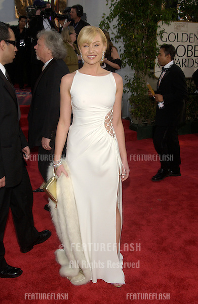PORTIA DE ROSSI at the 61st Annual Golden Globe Awards at the Beverly Hilton Hotel, Beverly Hills, CA..January 25, 2004