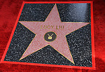 Lucy Liu Honored With Star On The Hollywood Walk Of Fame on May 01, 2019 in Hollywood, California.<br /> Lucy Liu 039