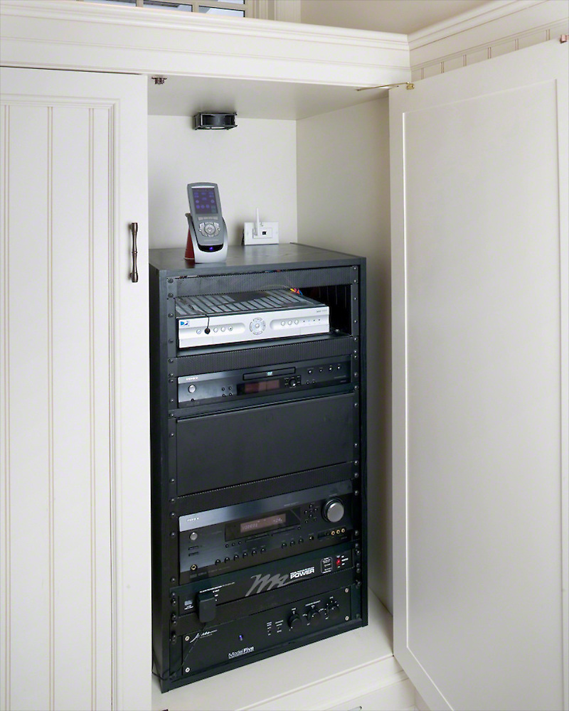 Single Rack In Cabinet