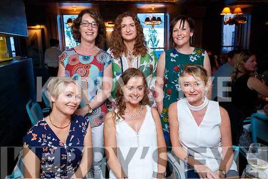 Friends enjoying a night out at Number 4 the square on Saturday evening, Front from left: Eileen O'Sullivan Anne McEllistrim and Roisin Kearney. Back Meave O'Brien, Eileen Diggin and Fiona Tobin,Tralee.