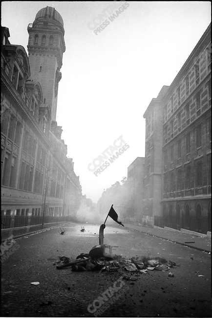 The May 1968 Events, rue Saint Jacques, Paris, France, June 10, 1968