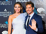 Rosanna Zanetti and David Bisbal attends Photocall previous to Starlite Gala 2019. August 11, 2019. (ALTERPHOTOS/Francis González)