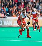 ROTTERDAM - Lieke Hulsen (Ned)   tijdens de Pro League hockeywedstrijd dames, Nederland-USA  (7-1) .   COPYRIGHT  KOEN SUYK