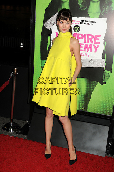 4 February 2014 - Los Angeles, California - Olga Kurylenko. &quot;Vampire Academy&quot; Los Angeles Premiere held at Regal Cinemas L.A. Live. <br /> CAP/ADM/BP<br /> &copy;Byron Purvis/AdMedia/Capital Pictures