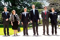 Spanish Royals Receive President of Portugal Rebelo de Sousa