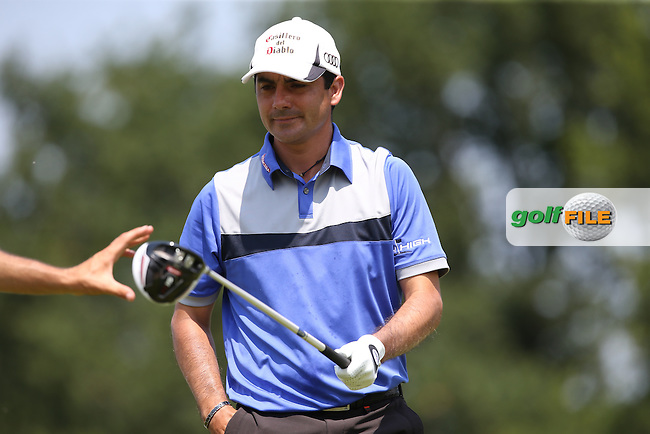 Felipe Aguilar (CHI) during Round Three of the 2015 Alstom Open de France, played at Le Golf National, Saint-Quentin-En-Yvelines, Paris, France. /04/07/2015/. Picture: Golffile | David Lloyd<br /> <br /> All photos usage must carry mandatory copyright credit (&copy; Golffile | David Lloyd)
