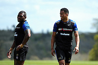 Anthony Watson of Bath Rugby looks on. Bath Rugby training session on May 3, 2016 at Farleigh House in Bath, England. Photo by: Patrick Khachfe / Onside Images
