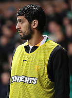 Lassad Nouioui nin the Celtic v St Mirren Clydesdale Bank Scottish Premier League match played at Celtic Park, Glasgow on 15.12.12.