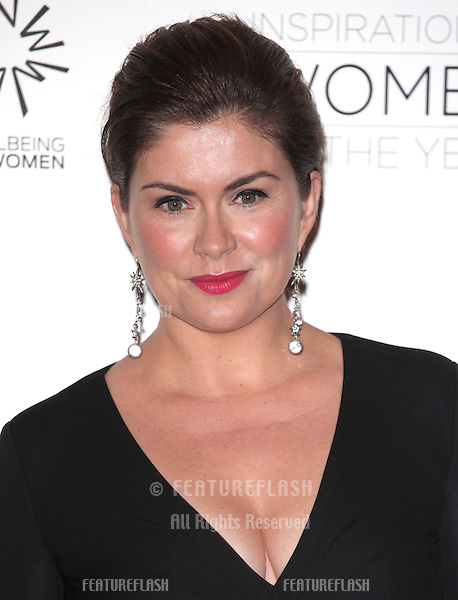 Amanda Lamb arriving for the Daily Mail Inspirational Women of the Year Awards in support of Wellbeing of Women held at the Marriott Hotel, London. 12/11/2012 Picture by: Alexandra Glen / Featureflash