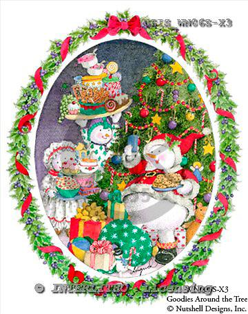 Ingrid, CHRISTMAS SANTA, SNOWMAN, WEIHNACHTSMÄNNER, SCHNEEMÄNNER, PAPÁ NOEL, MUÑECOS DE NIEVE, paintings+++++,USISWN06S-X3,#X# vintage