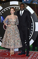 "Jessica Chastain and Idris Elba<br /> arriving for the ""Molly's Game"" premiere at the Vue West End, Leicester Square, London<br /> <br /> <br /> ©Ash Knotek  D3357  06/12/2017"