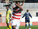 25/09/2010   Copyright  Pic : James Stewart.sct_jsp009_hamilton_v_kilmarnock  .::  NIGEL HASSELBANK CELEBRATES AFTER HE SCORES ACCIES SECOND  ::.James Stewart Photography 19 Carronlea Drive, Falkirk. FK2 8DN      Vat Reg No. 607 6932 25.Telephone      : +44 (0)1324 570291 .Mobile              : +44 (0)7721 416997.E-mail  :  jim@jspa.co.uk.If you require further information then contact Jim Stewart on any of the numbers above.........