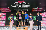 Mitchelton-Scott lead the team classification after Stage 6 of the 2018 Giro d'Italia, running 169km from Caltanissetta to the Etna (Osservatorio Astrofisico), the first mountain top finish of the race finishing on the Osservatorio Astrofisico climb for the first time in race's history Sicily, Italy. 10th May 2018.<br /> Picture: LaPresse/Gian Mattia D'Alberto | Cyclefile<br /> <br /> <br /> All photos usage must carry mandatory copyright credit (&copy; Cyclefile | LaPresse/Gian Mattia D'Alberto)