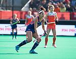 ROTTERDAM -  Linnea Gonzales (USA)    tijdens de Pro League hockeywedstrijd dames, Nederland-USA  (7-1) .   COPYRIGHT  KOEN SUYK