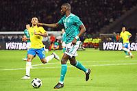 Antonio Rüdiger (Deutschland Germany) - 27.03.2018: Deutschland vs. Brasilien, Olympiastadion Berlin