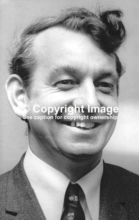 Thomas Seymour, candidate, Vanguard Unionist, Armagh, N Ireland Assembly Election, 1973960000462d<br />