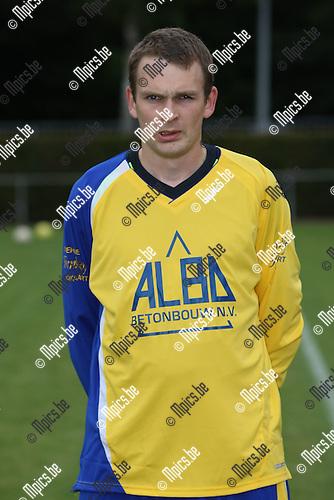 2008-07-18 / Voetbal / seizoen 2008-2009 / FC De Kempen / Stief Goetschalckx..Foto: Maarten Straetemans (SMB)