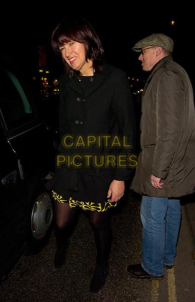 "JANET STREET PORTER.The ""Dealer's Choice"" press night, Trafalgar Studios theatre, London, England..December 11th, 2007.full length black coat jacket.CAP/CAN.©Can Nguyen/Capital Pictures"