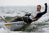 Medemblik - the Netherlands, May 30th 2010. Delta Lloyd Regatta in Medemblik (26/30 May 2010). Day 5, medal race. Laser Radial