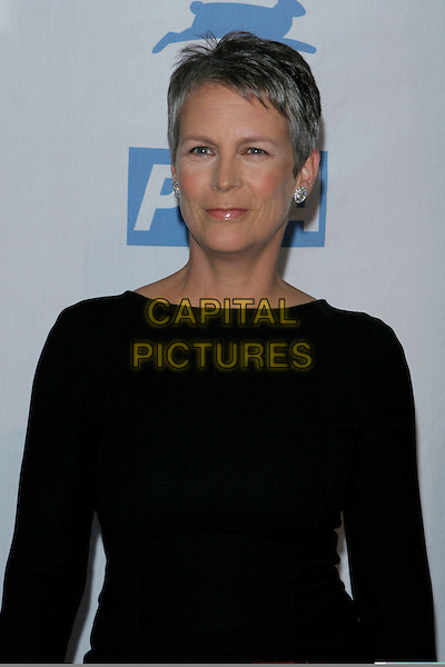 JAMIE LEE CURTIS.PETA's 25th Anniversary Gala and Humanitatian Awards Show held at Paramount Pictures, Hollywood,.Los Angeles, 10th September 2005.portrait headshot black top.Ref: ADM/JW.www.capitalpictures.com.sales@capitalpictures.com.© Capital Pictures.
