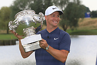 Alex Noren (SWE) winner of the HNA Open De France at Le Golf National in Saint-Quentin-En-Yvelines, Paris, France on Sunday 1st July 2018.<br /> Picture:  Thos Caffrey | Golffile