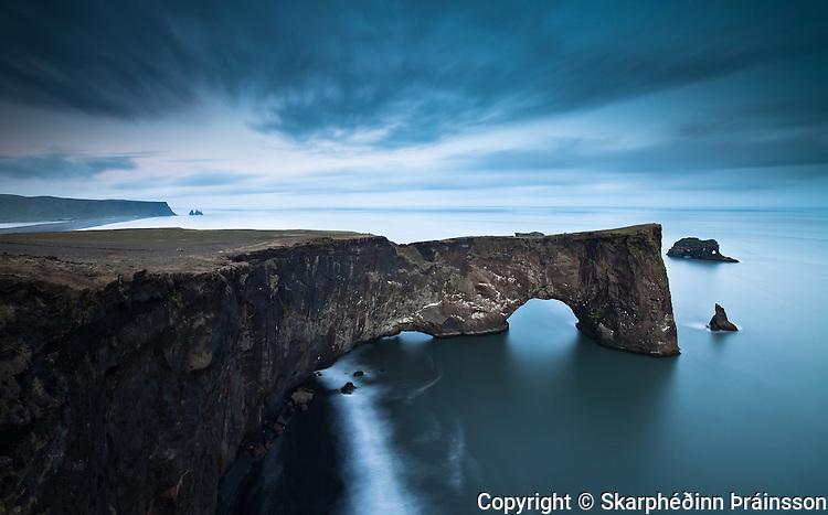 Dyrhólaey in Mýrdalur, south Iceland