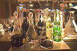 Liquor Bottles, La Trompete Restaurant, London, England