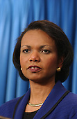 National Security Advisor Condoleeza Rice holds a press confrence in the Brady Briefing Room at the White House in Washington, D.C. on November 8, 2001..Credit: Ron Sachs / CNP.