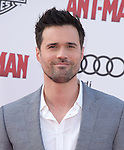 "Brett Dalton attends The Premiere Of Marvel's ""Ant-Man"" held at The Dolby Theatre  in Hollywood, California on June 29,2015                                                                               © 2015 Hollywood Press Agency"