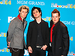 Green Day in the Press Room of 2004 Billboard Music Awards at MGM Grand in Las Vegas, December 8th 2004. Photo by Chris Walter/Photofeatures.