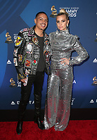 WEST HOLLYWOOD, CA - FEBRUARY 7: Evan Ross and Ashlee Simpson at the Delta Air Line 2019 GRAMMY Party at Mondrian LA in West Hollywood, California on February 7, 2019.   <br /> CAP/MPI/SAD<br /> &copy;SAD/MPI/Capital Pictures