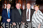 Neilie Moylan, Michael Twomey, Tim and Dorothy Dunne Cullen at  the Kerry Angus Society annual social in the Killarney Avenue Hotel on Saturday night..