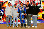 Nov 06, 2009; 12:45:41 AM; Concord, NC, USA; The Topless Showdown presented by Hungry-Man features the cars and stars of the World of Outlaws Late Model Series competing at The Dirt Track @ Lowe's Motor Speedway.  Mandatory Credit: (thesportswire.net)