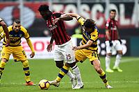 Frank Kessie-Roberto Inglese <br /> Milano 2-12-2018 Stadio San Siro Football Calcio Serie A 2018/2019 AC Milan - Parma Foto Image Sport / Insidefoto