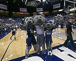 Nevada mascots before an NCAA college basketball game  against San Jose State in Reno, Nev., Wednesday, Jan. 9, 2019. (AP Photo/Tom R. Smedes)