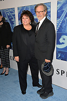 Steven Spielberg, Susan Lacy at the premiere for the HBO documentary &quot;Spielberg&quot; at Paramount Studios, Hollywood. Los Angeles, USA 26 September  2017<br /> Picture: Paul Smith/Featureflash/SilverHub 0208 004 5359 sales@silverhubmedia.com