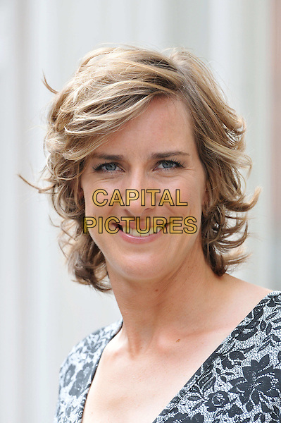Katherine Grainger .Olympic athletes and Long Tall Sally ambassadors attend media day and photocall for fashion brand Long Tall Sally which makes clothes for taller women having launched the LTS Row collection with them, Long Tall Sally, London, England..August 20th, 2012.headshot portrait black grey gray lace .CAP/BF.©Bob Fidgeon/Capital Pictures.