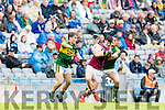 Kerry in action against  Galway in the All Ireland Minor Football Final in Croke Park on Sunday.