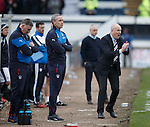 Mark Warburton and co try to rally their men for one last go