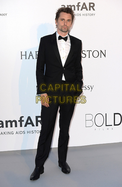 Matt Bellamy - arrivals at amfAR&rsquo;s Cinema Agains Aids Gala at Hotel du Cap, Antibes during the Cannes Film Festival on May 21, 2015 in Cap d'Antibes, France.<br /> CAP/CAS<br /> &copy;Bob Cass/Capital Pictures
