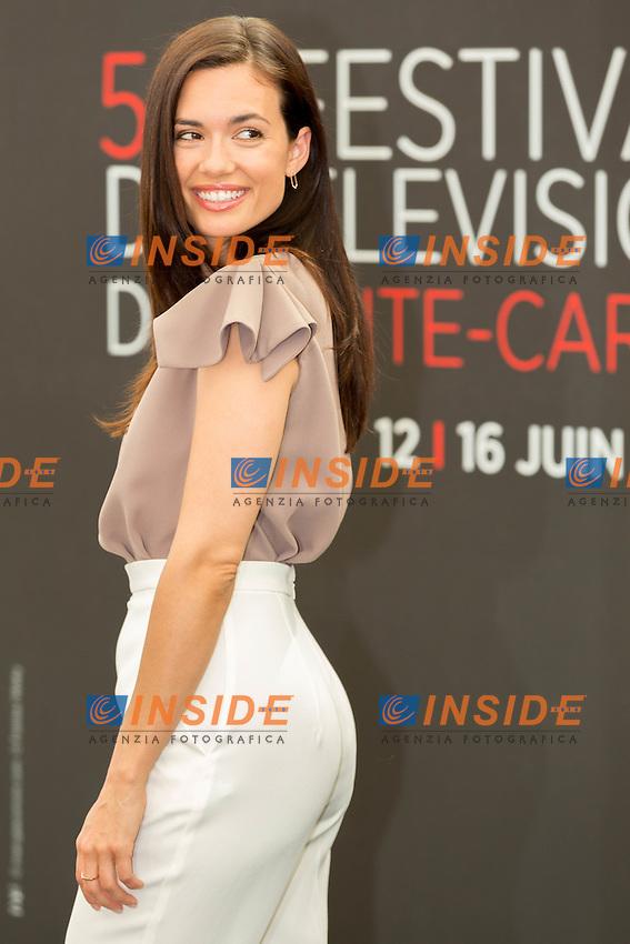 Torrey DEVITTO, Chicago Med<br /> <br /> Monaco Montecarlo 14-06-2016 <br /> 56th Monaco TV Festival - Photocall Opening Ceremony <br /> Foto Nicolas Gavet Panoramic / Insidefoto