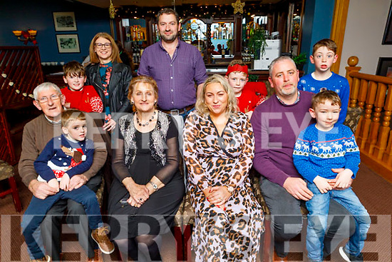 Martina Kelly from Kilmorna Listowel celebrating her 40th birthday in the Imperial Hotel on Friday.<br /> Seated l to r: Tom, Rian and Eileen Sheehy, Martina, Jason and Luke Kelly.<br /> Back l to r: Jack, Diane and James Sheehy, Mark and Ashton Kelly.