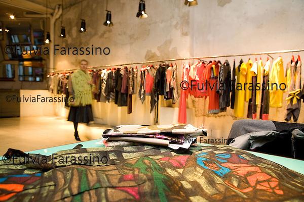Milano 20/12/2007.Antonio Marras.Antonio Marras's showroom