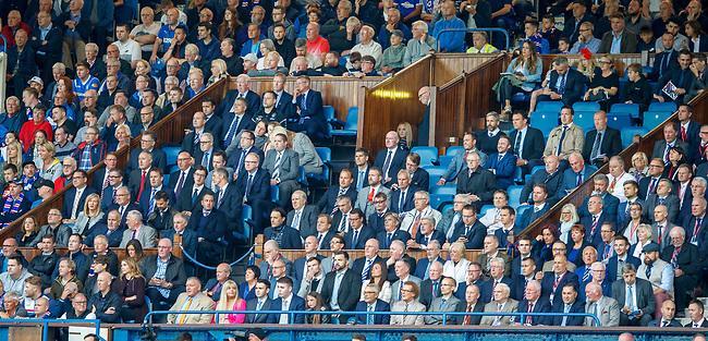 09.08.18 Rangers v Maribor: Rangers directors box