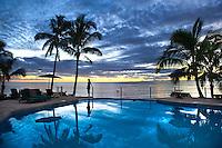 Fiji,Taveuni island beach.