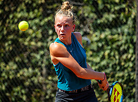 Hilversum, Netherlands, Juli 29, 2019, Tulip Tennis center, National Junior Tennis Championships 12 and 14 years, NJK, Sanne Schoormans (NED)<br /> Photo: Tennisimages/Henk Koster