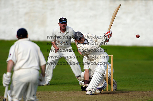 Carlton CC V Grange CC, Scottish National Cricket League, Premier Division, at Grange Loan, Edinburgh - Grange captain Sanjeev Patel led from the front to offer his side victory, opening the innings and reaching 78 before falling to Carlton's Cedric English, chasing down 218 to win - Picture by Donald MacLeod 25.07.09